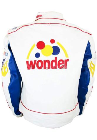 Talladega Nights Ricky Bobby Wonder Leather Jacket