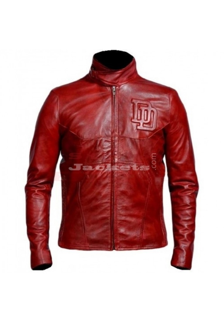 Daredevil Ben Affleck Cosplay Leather Jacket