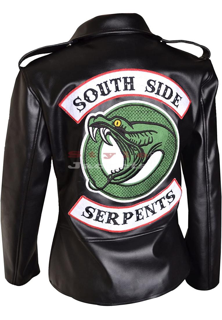 Riverdale Southside Serpents Women Leather Jacket