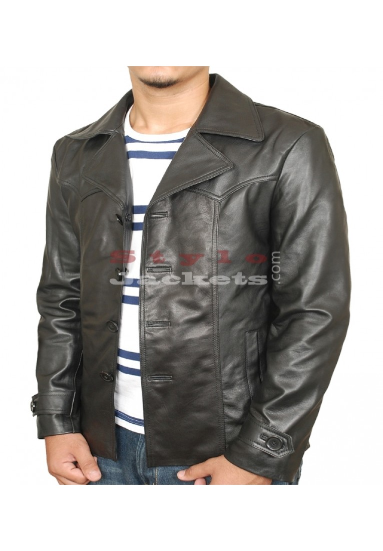 70s style Leather Jacket