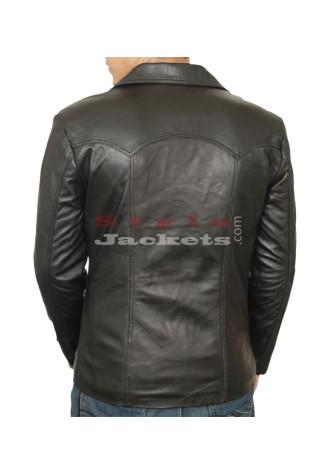 70s style Leather Jacket