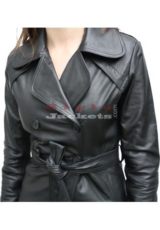 Classic Women Leather Jacket