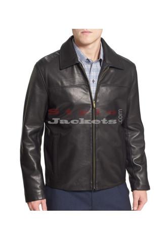 Bomber Leather Jacket for Men