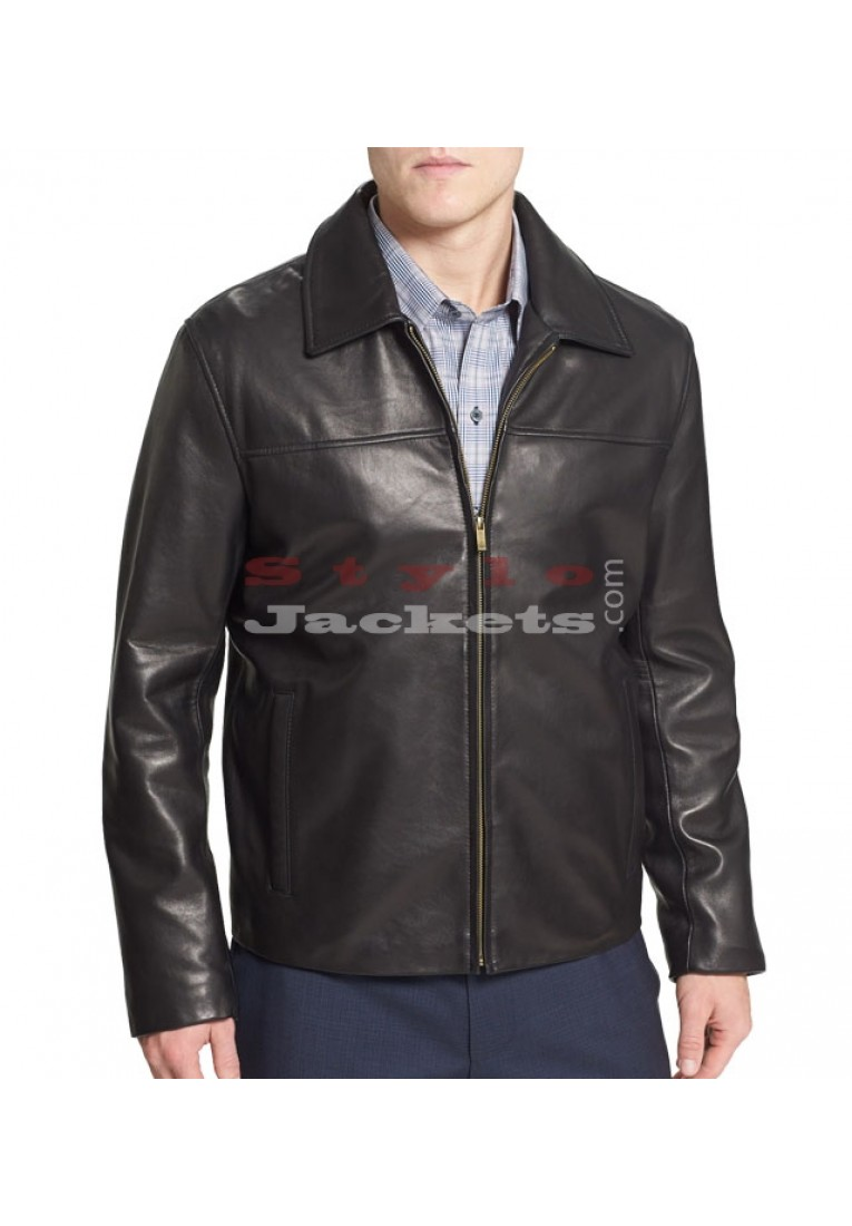 Bomber Leather Jacket for Men