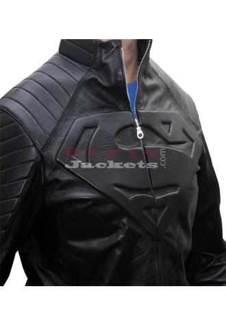 Smallville Superman Replica Black Movie Jacket