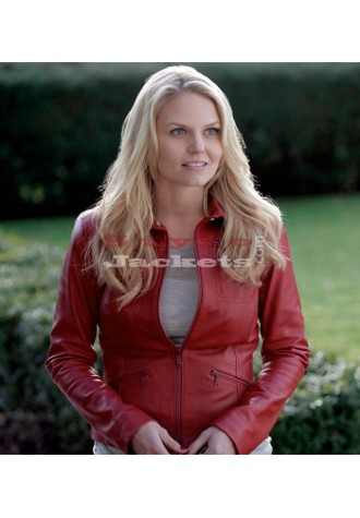 Red Charming Shirt Collar Replica Red Movie Jacket