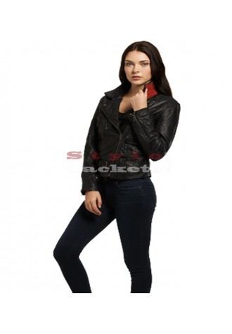 Belted Rider Moto Jacket