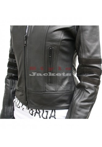 Dark Angel Black Women Leather Jacket