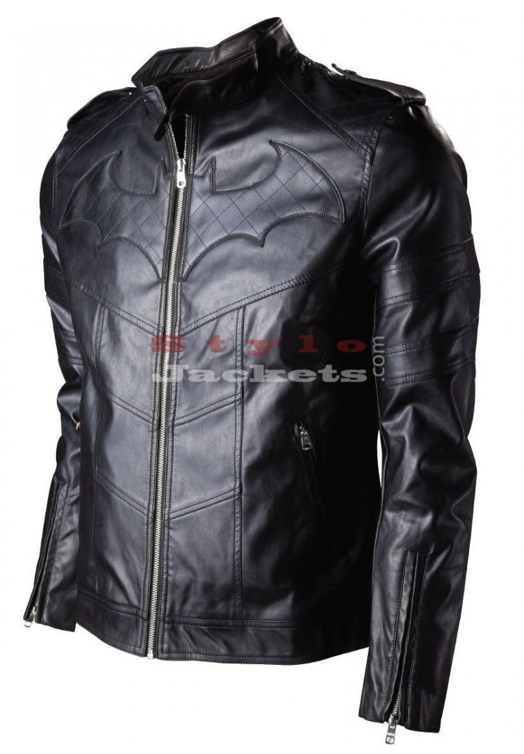 Batman Arkham Knight Leather Movie Jacket