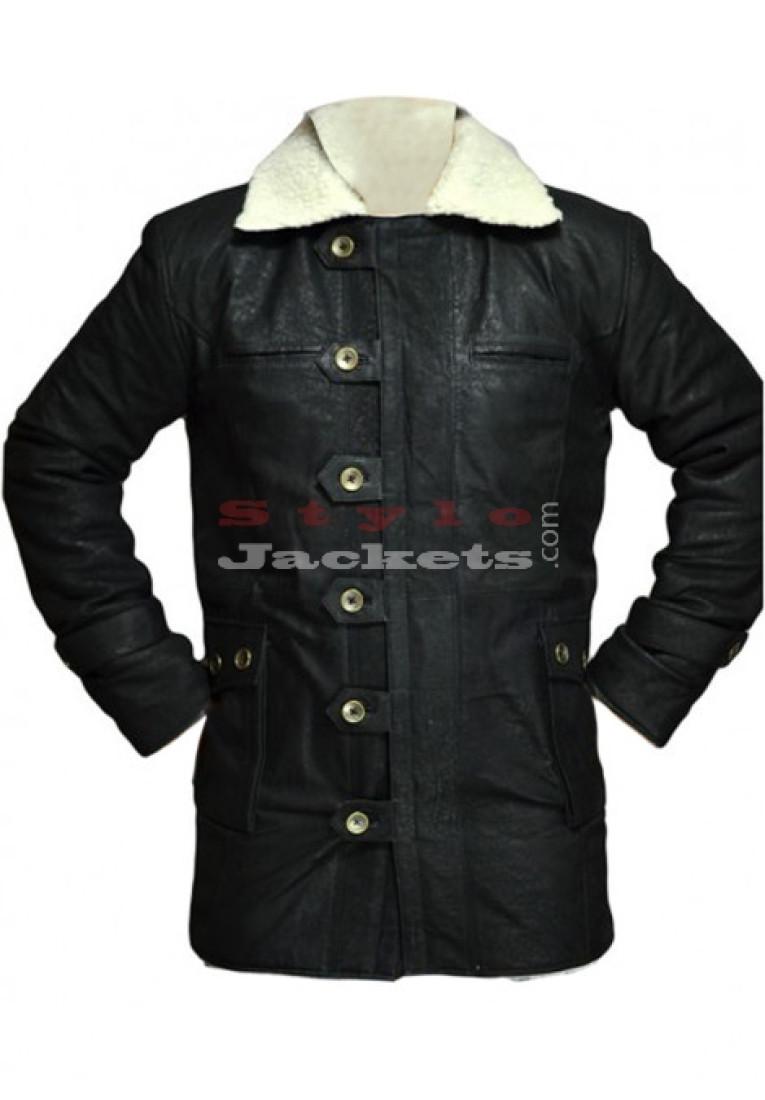 Dark Knight Rises Bane Coat Black Jacket Coat