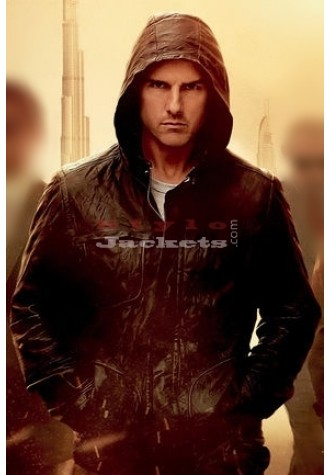 Mission Impossible 5 Rogue Nation Tom Cruise Black Jacket