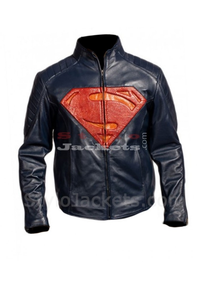 Superman Man Of Steel Exclusive Leather Jacket