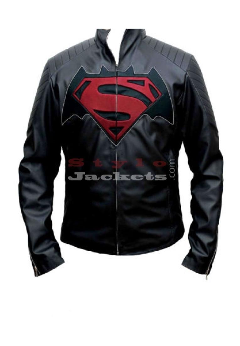 Dawn of Justice Superman Vs Batman Costume Jacket
