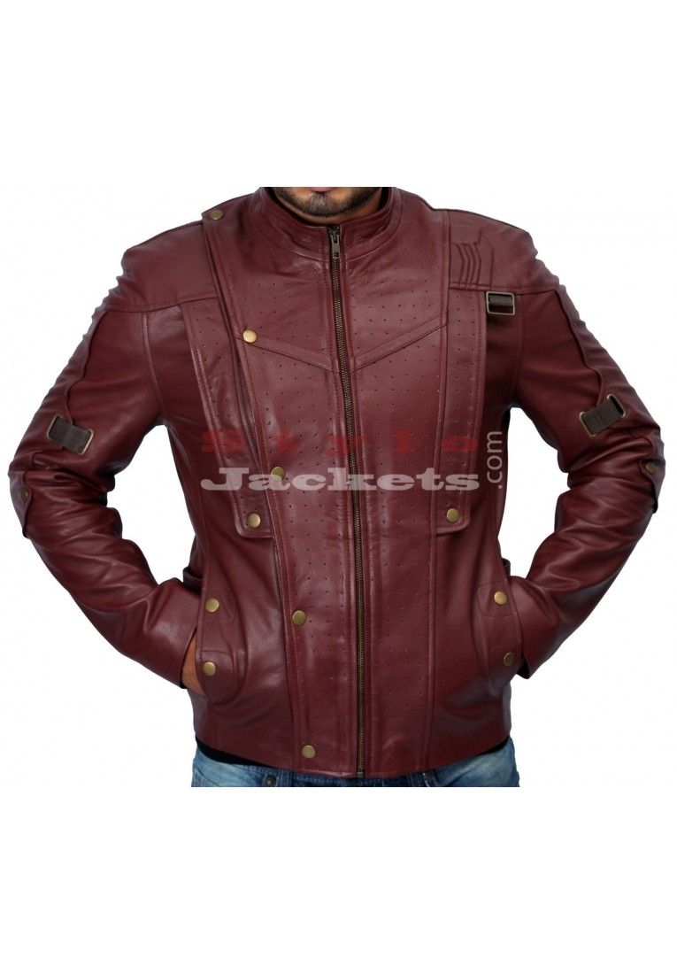 Guardians of the Galaxy Star Lord Leather Jacket Replica