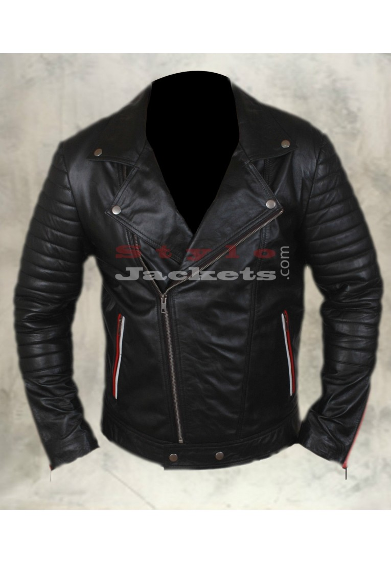 Blue Valentine Ryan Gosling Slim Fit Motorcycle Jacket