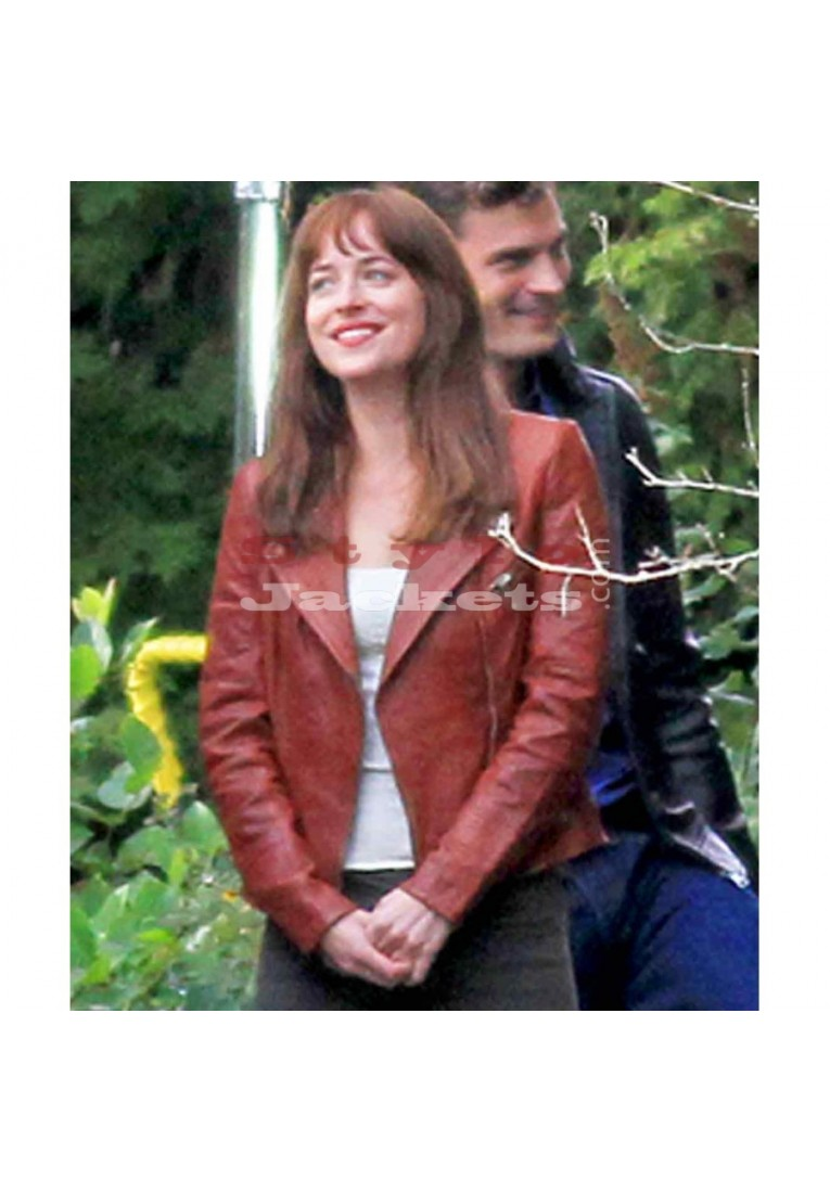 Fifty Shades of Grey Dakota Johnson Movie Jacket