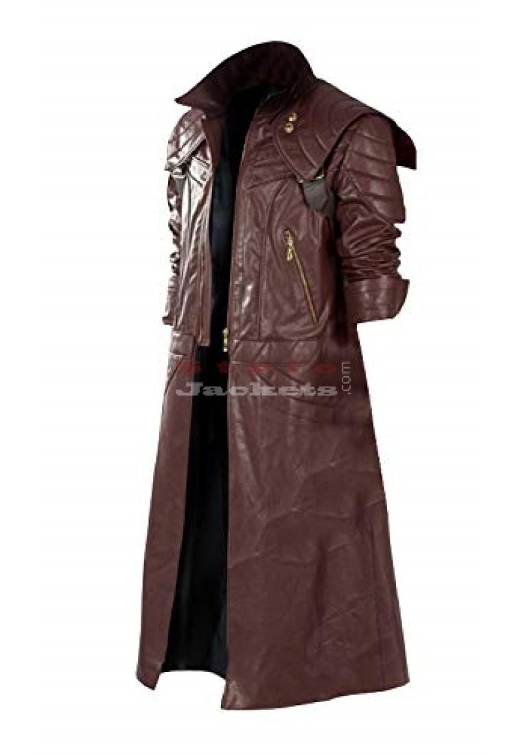 Devil May Cry V DMC5 Dante Aged Cosplay Costume Coat