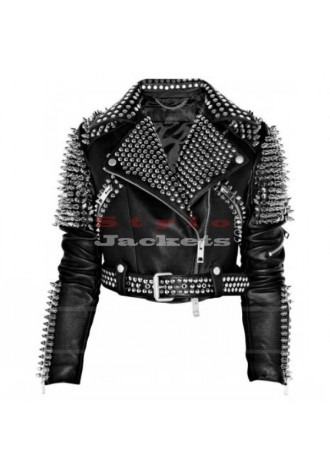 Britney Spears Till the World Ends Black Leather Jacket